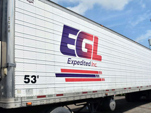 reklame na kamionu