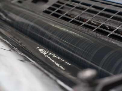 crna boja u stampariji