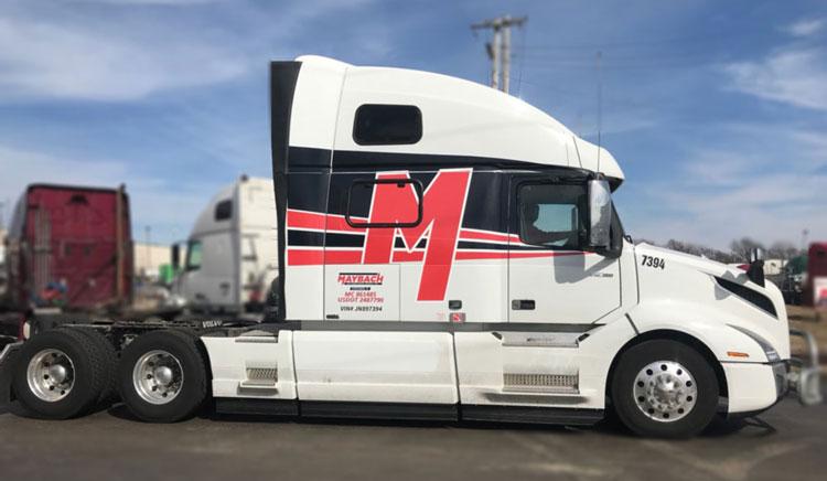 ispisivanje firme na kamionu