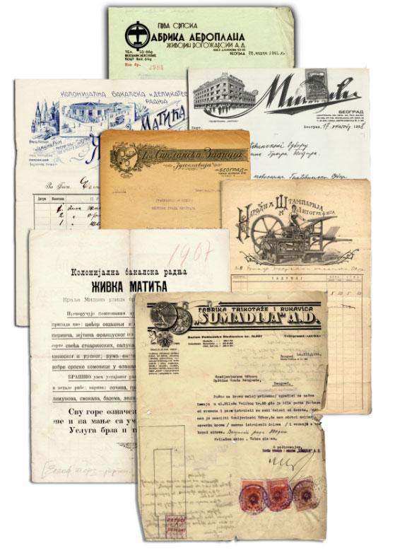 memorandumi bg privrednika 1907-1941